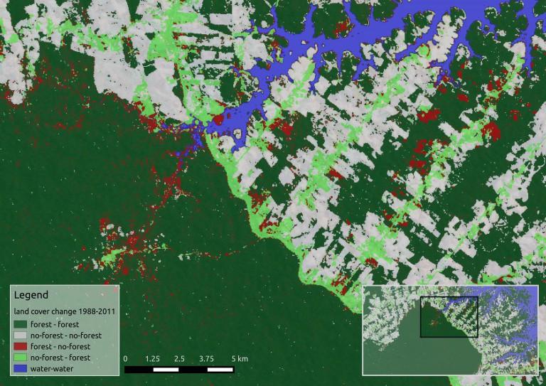 RemoteSensing_GIS_Ecology_bookbook.ecosens.org_land_cover_change_landsat_Brazil_Wegmann_2016