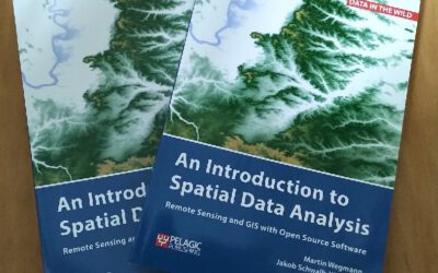 "First copies of ""Introduction to Spatial Data Analysis"" arrived"