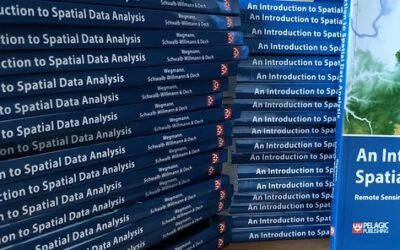 "Our book ""Introduction to Spatial Data Analysis"" is out"
